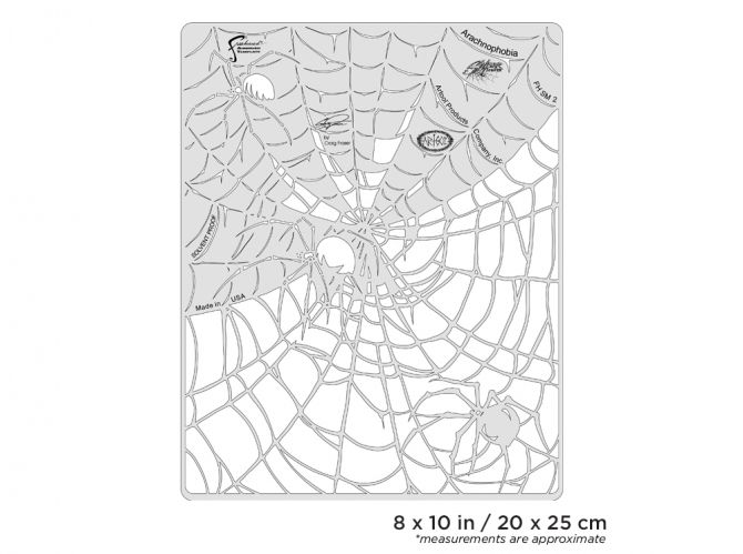 Artool Spider Master Arachnophobia Freehand Airbrush Template by Craig  Fraser