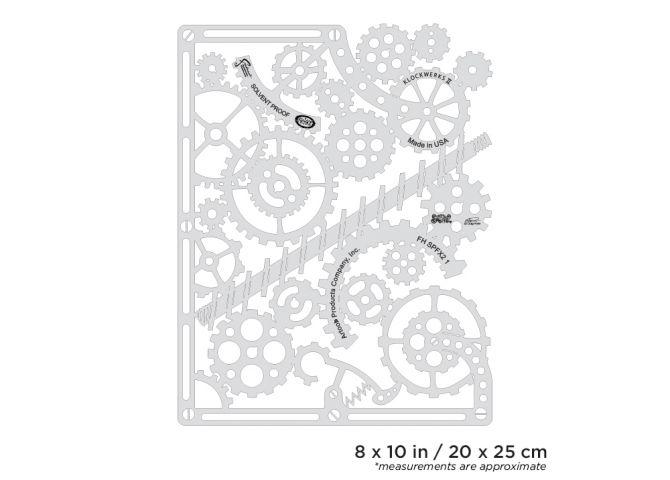 artool steampunk fx2 klockwerks ii freehand airbrush template by