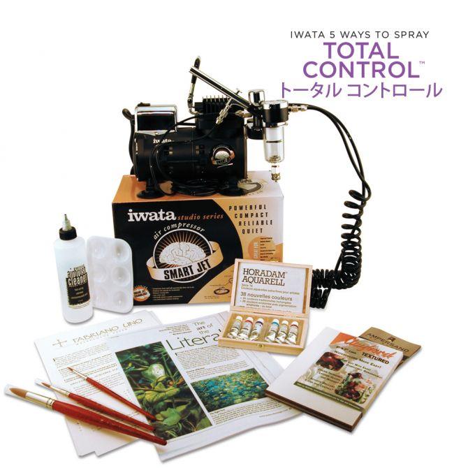 Iwata Airbrush Kit >> Iwata Watercolor Airbrush Kit With High Performance Hp C Plus